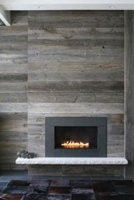 Reclaimed Wood Fireplace 93