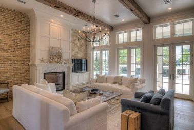 Reclaimed Wood Fireplace 94