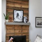 Reclaimed Wood Fireplace 99