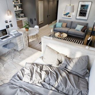Small Apartment Bedroom Decor 118