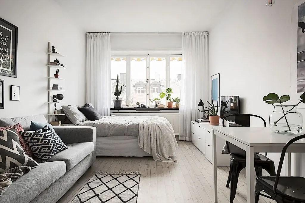 Small Apartment Bedroom Decor 122