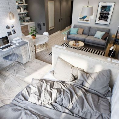 Small Apartment Bedroom Decor 29