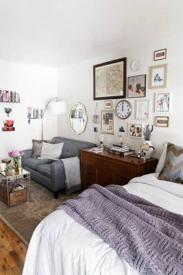 Small Apartment Bedroom Decor 44