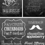 Summer Chalkboard Art 102