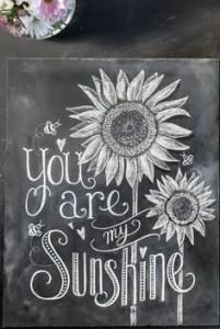 Summer Chalkboard Art 121