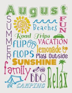 Summer Chalkboard Art 127