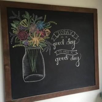 Summer Chalkboard Art 134