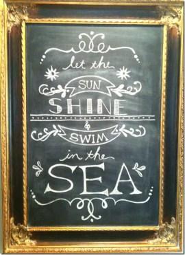 Summer Chalkboard Art 136