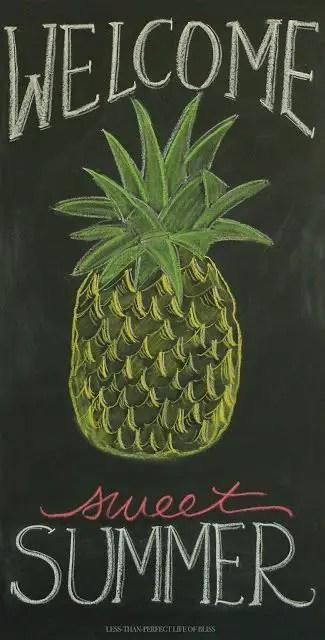 Summer Chalkboard Art 145