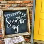 Summer Chalkboard Art 148