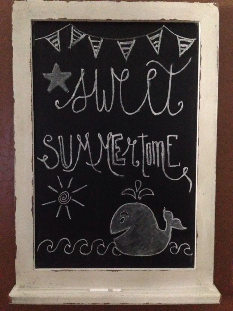 Summer Chalkboard Art 150