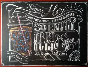 Summer Chalkboard Art 18