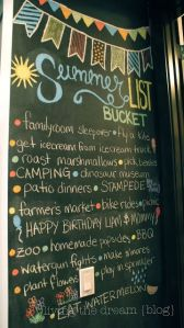 Summer Chalkboard Art 30