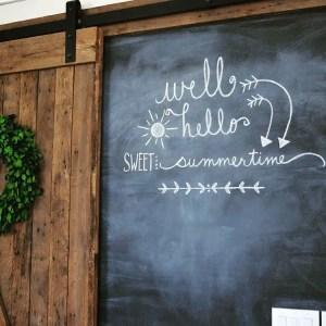 Summer Chalkboard Art 31