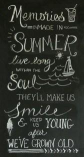 Summer Chalkboard Art 39