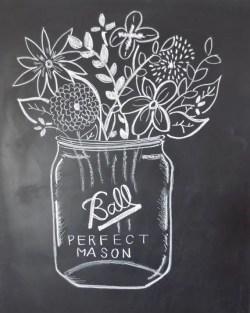 Summer Chalkboard Art 41