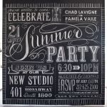 Summer Chalkboard Art 49