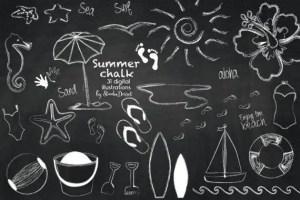 Summer Chalkboard Art 53