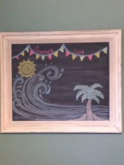 Summer Chalkboard Art 9
