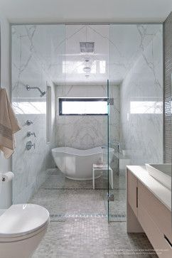 Tiny Master Bathroom 107