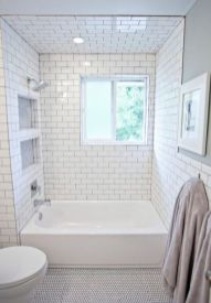 Tiny Master Bathroom 112