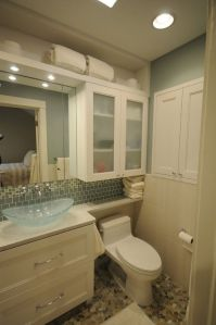 Tiny Master Bathroom 132