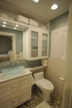 Tiny Master Bathroom 132