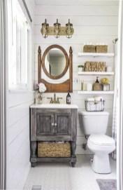 Tiny Master Bathroom 14