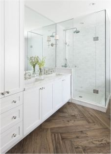 Tiny Master Bathroom 147