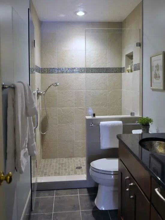 Tiny Master Bathroom 32