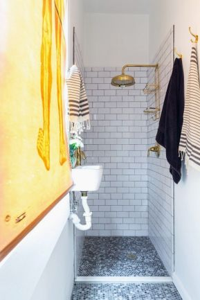Tiny Master Bathroom 47