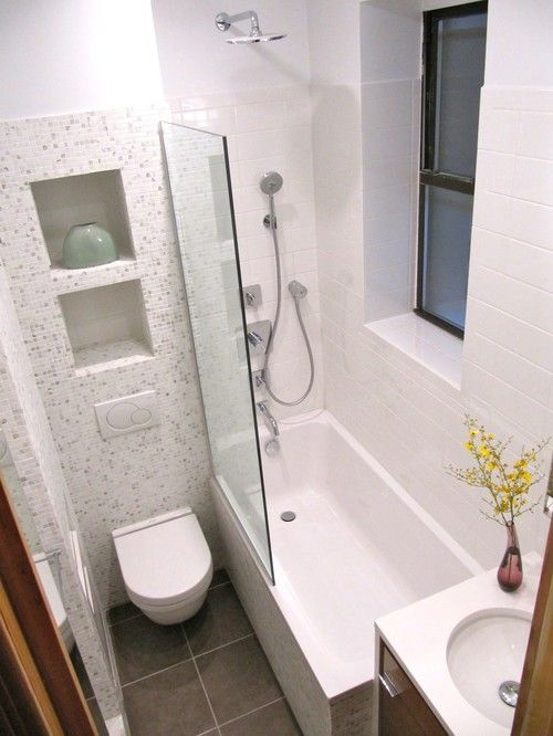 Tiny Master Bathroom 63