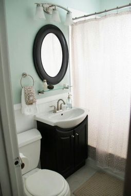 Tiny Master Bathroom 9