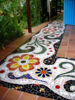Mosaic Patio 1