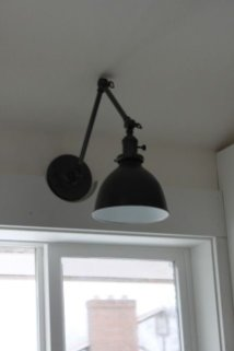 Sconce Over Kitchen Sink 145