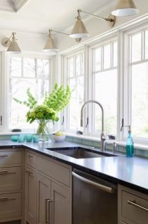 Sconce Over Kitchen Sink 146
