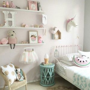 White And Pastel Bedroom 106