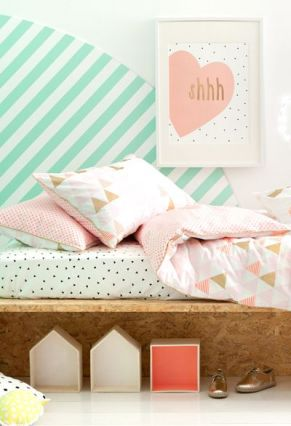 White And Pastel Bedroom 122