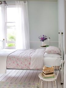 White And Pastel Bedroom 126
