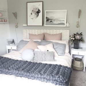 White And Pastel Bedroom 133