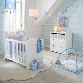 White And Pastel Bedroom 152