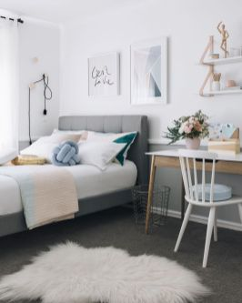 White And Pastel Bedroom 158