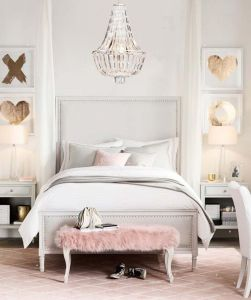 White And Pastel Bedroom 166