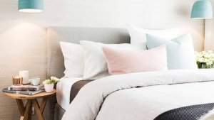 White And Pastel Bedroom 28
