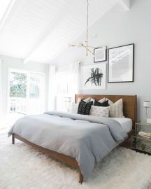 White And Pastel Bedroom 45