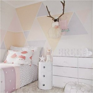 White And Pastel Bedroom 55