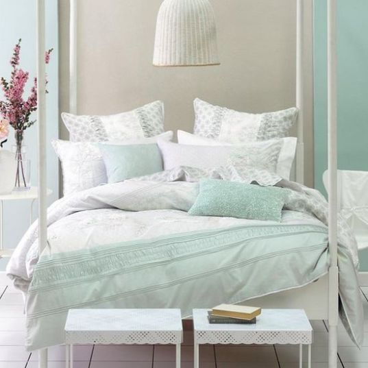 White And Pastel Bedroom 67