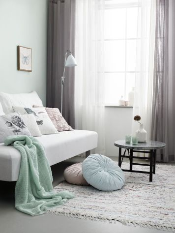 White And Pastel Bedroom 68