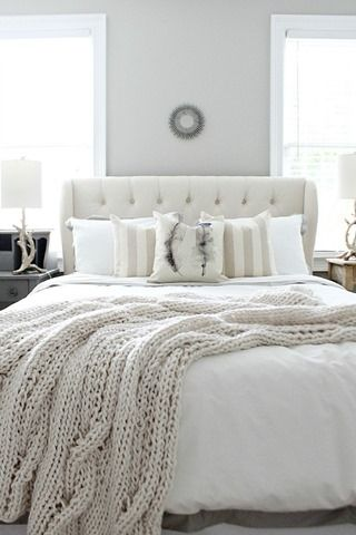 White And Pastel Bedroom 7