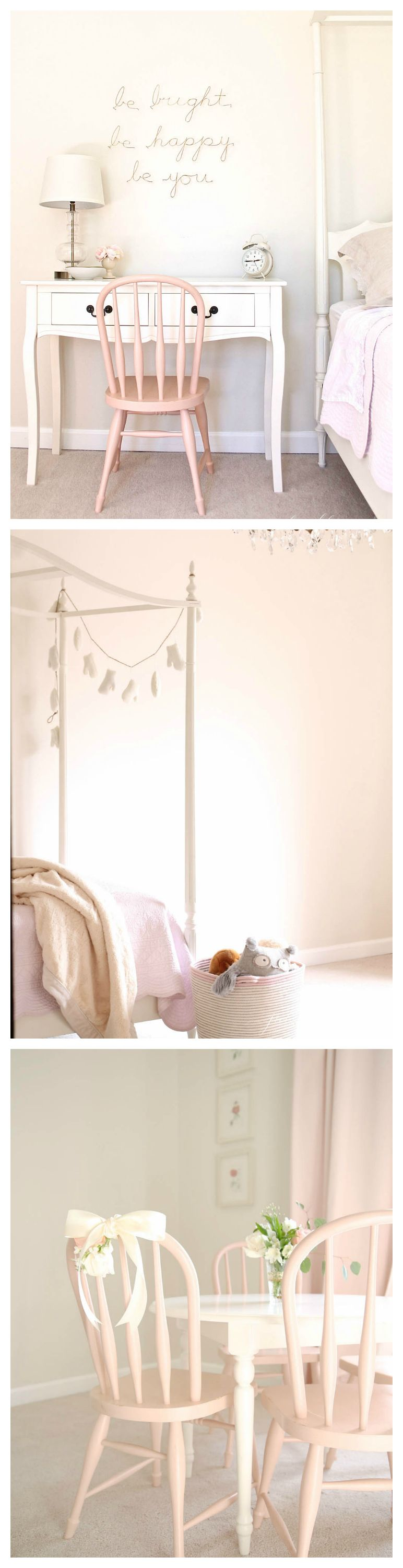 White And Pastel Bedroom 76